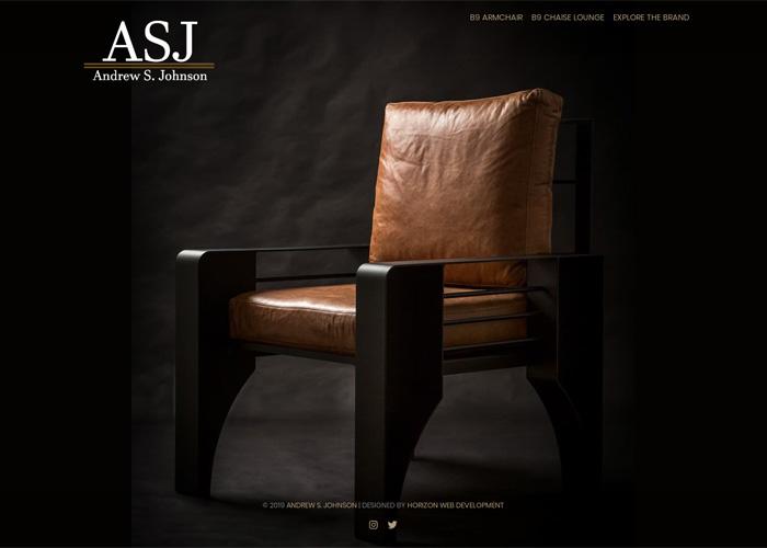 Andrew S. Johnson is a luxury furniture designer based in Nottingham