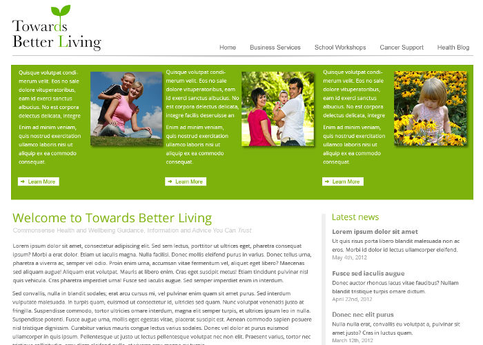 Towards Better Living